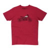 Men's FTR1200 Sketch T-shirt, Red - Image 1 of 5