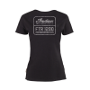 Women's FTR1200 Logo T-Shirt, Black - Image 2 of 7