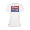 Women's FTR1200 Logo T-Shirt, White - Image 2 of 9