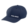 Men's Adjustable Snapback Hat with White Logo, Navy - Image 1 de 1