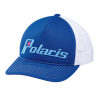 Women's Adjustable Mesh Snapback Hat with Retro Light Blue Polaris® Logo, Blue - Image 1 of 1