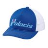 Women's Adjustable Mesh Snapback Hat with Retro Light Blue Polaris® Logo, Blue - Image 1 de 1