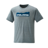 Men's Mountain-Scape Graphic T-Shirt with Polaris® Logo, Ash Heather - Image 1 of 2