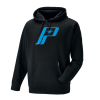Men's Retro Hoodie with Logo, Black - Image 1 of 6