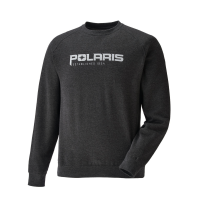 Men's Crew Sweatshirt with Polaris® Logo