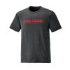 Men's Short-Sleeve Graphic Tee with Logo, Charcoal Heather - Image 1 of 3