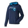 Women's Retro Hoodie Sweatshirt with Polaris® Logo, Navy - Image 1 of 6