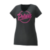 Women's Graphic T-Shirt with Script Polaris® Logo, Black Frost - Image 1 of 1