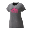 Women's Roseau Graphic T-Shirt with Polaris® Logo, Gray Frost - Image 1 de 3