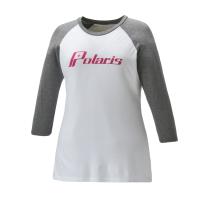 Women's 3/4 Sleeve Graphic T-Shirt with Polaris® Logo