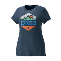 Women's Hex Graphic T-Shirt with Polaris® Logo
