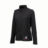 Women's Full-Zip Riders Jacket with Slingshot® Racing Logo, Black