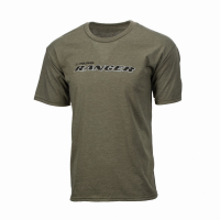 Men's Graphic T-Shirt with RANGER® Logo, Heather Olive