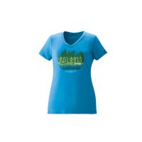Women's Trail V-Neck Tee - Turquoise