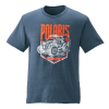 Men's Edge Graphic T-Shirt with RZR® Logo, Navy Heather - Image 1 of 2