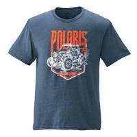Men's Edge Graphic T-Shirt with RZR® Logo, Navy Heather