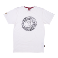 Men's Circle Icon Logo T-Shirt, White