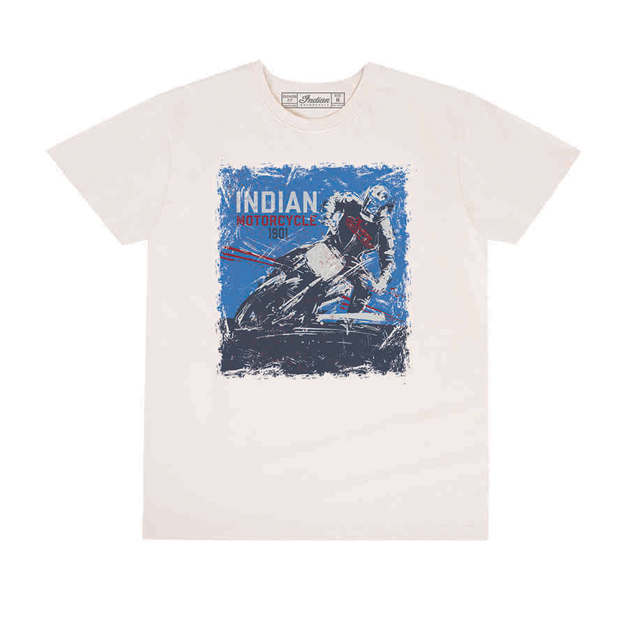 Men's Adventure Graphic T-Shirt, Antique White