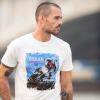 Men's Adventure Graphic T-Shirt, Antique White - Image 2 of 3