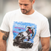 Men's Adventure Graphic T-Shirt, Antique White - Image 3 of 3