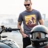 Men's Adventure Graphic T-Shirt, Gray - Image 2 of 3