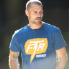 Men's Bolt T-Shirt, Blue - Image 3 of 3