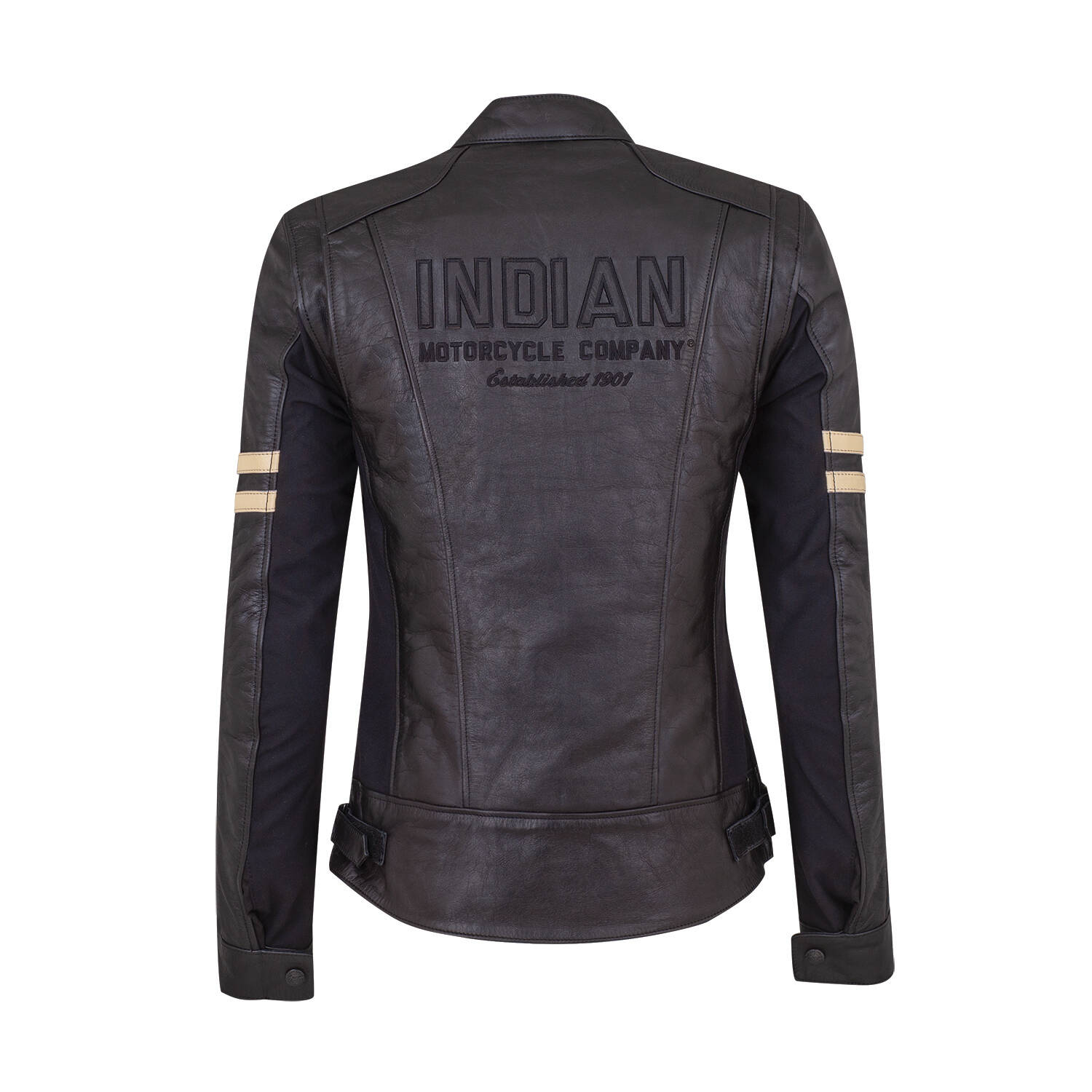 Indian Motorcycle Womens Blake Leather Riding Jacket With -9340
