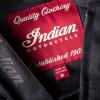 Men's Denim Atlanta Riding Jacket, Black - Image 7 of 9
