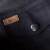Men's Denim Atlanta Riding Jacket, Black - Image 8 of 12