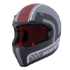Adventure Helmet with Matte Stripe, Gray/Red  - Image 4 of 13