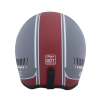 Adventure Helmet with Matte Stripe, Gray/Red  - Image 4 of 11