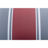Adventure Helmet with Matte Stripe, Gray/Red  - Image 7 of 11