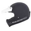 Adventure Helmet, Glossy Black - Image 8 of 14