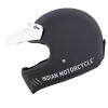 Adventure Helmet, Glossy Black - Image 6 of 12