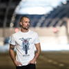 Men's FTR Front T-Shirt, Antique White - Image 4 of 4
