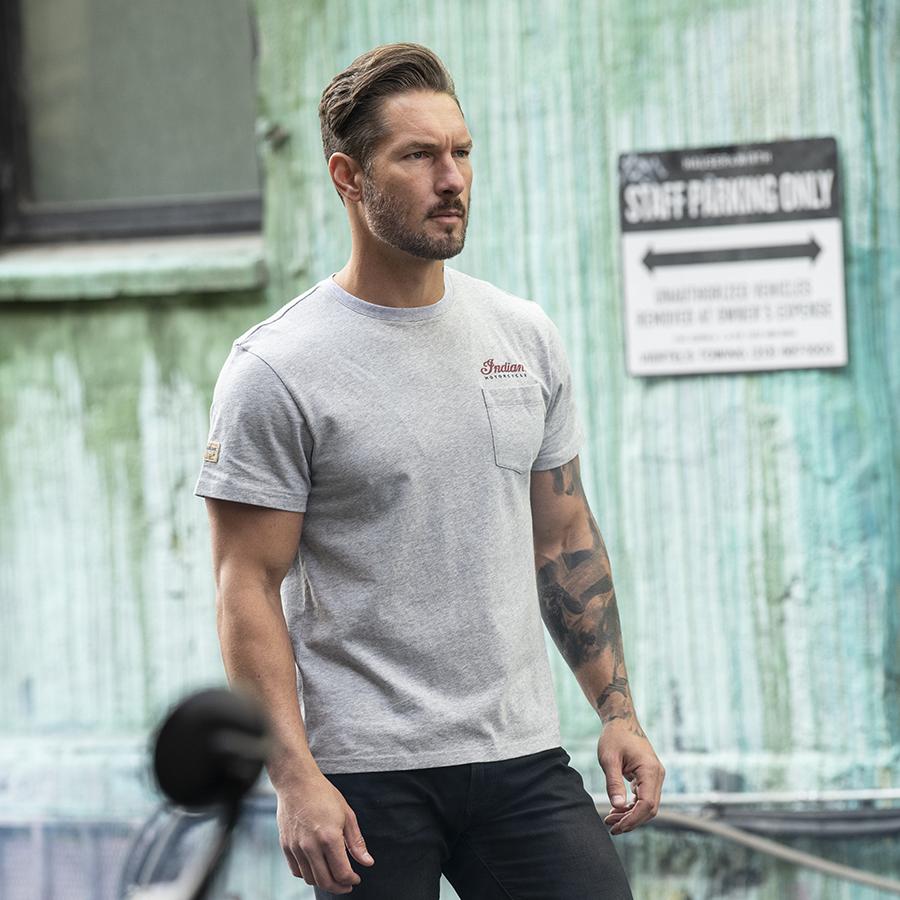Men's Montage T-Shirt, Gray