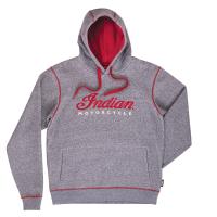 Men's Logo Hoodie Sweatshirt, Gray