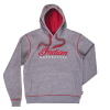 Men's Logo Hoodie Sweatshirt, Gray - Image 2 of 4
