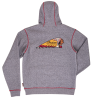 Men's Logo Hoodie Sweatshirt, Gray - Image 3 of 4