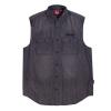 Men's Sleeveless Denim Shirt, Gray - Image 1 of 2