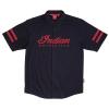 Men's Short-Sleeve Casual Shop Shirt, Black - Image 2 of 4