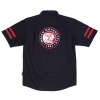 Men's Short-Sleeve Casual Shop Shirt, Black - Image 3 of 4