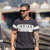 Men's Wrecking Crew T-Shirt with Stripe, Gray - Image 1 of 5