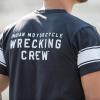 Men's Wrecking Crew T-Shirt with Stripe, Gray - Image 4 of 5