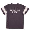 Men's Wrecking Crew T-Shirt with Stripe, Gray - Image 3 of 5