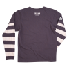 Men's Long-Sleeve Wrecking Crew T-Shirt with Stripe, Gray - Image 2 of 2