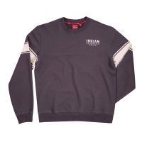Men's Wrecking Crew Sweatshirt with Stripe, Gray