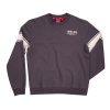 Men's Wrecking Crew Pull-Over Sweatshirt with Stripe, Gray - Image 2 of 4