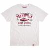 Men's 1901 Bonneville T-Shirt, White - Image 2 of 3