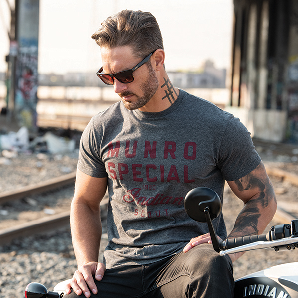 Men's 1901 Munro Special T-Shirt, Gray
